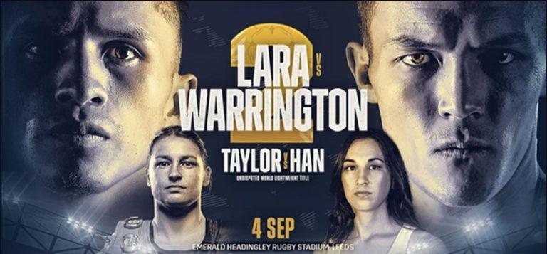Bet on Lara Vs Warrington 2 Boxing Fight   Best Betting Bonuses & Free Bets