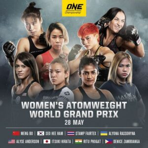 One FC Atomweight Grand Prix Fighters Bet On Fights