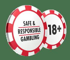 18+ Responsible Gambling