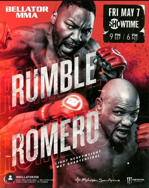 Bet on Bellator 258 Rumble Vs Romero
