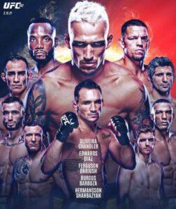 et on UFC 262 Oliveira vs Chandler, Edwards Vs Diaz