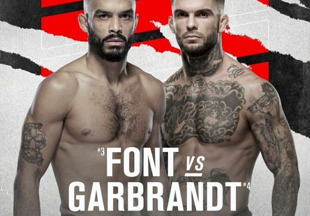 Bet on UFC Fight Night 188Font Vs Garbrandt