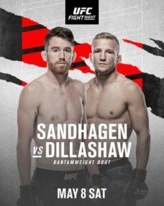 Bet on UFC Sandhagen Vs Dillashaw