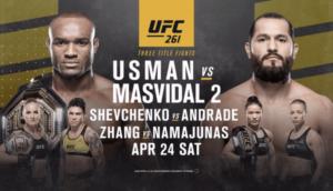 Bet on UFC 261 Kamaru Usman vs Masvidal 2