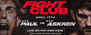 Bet on Jake Paul Vs. Ben Askren Boxing Fight