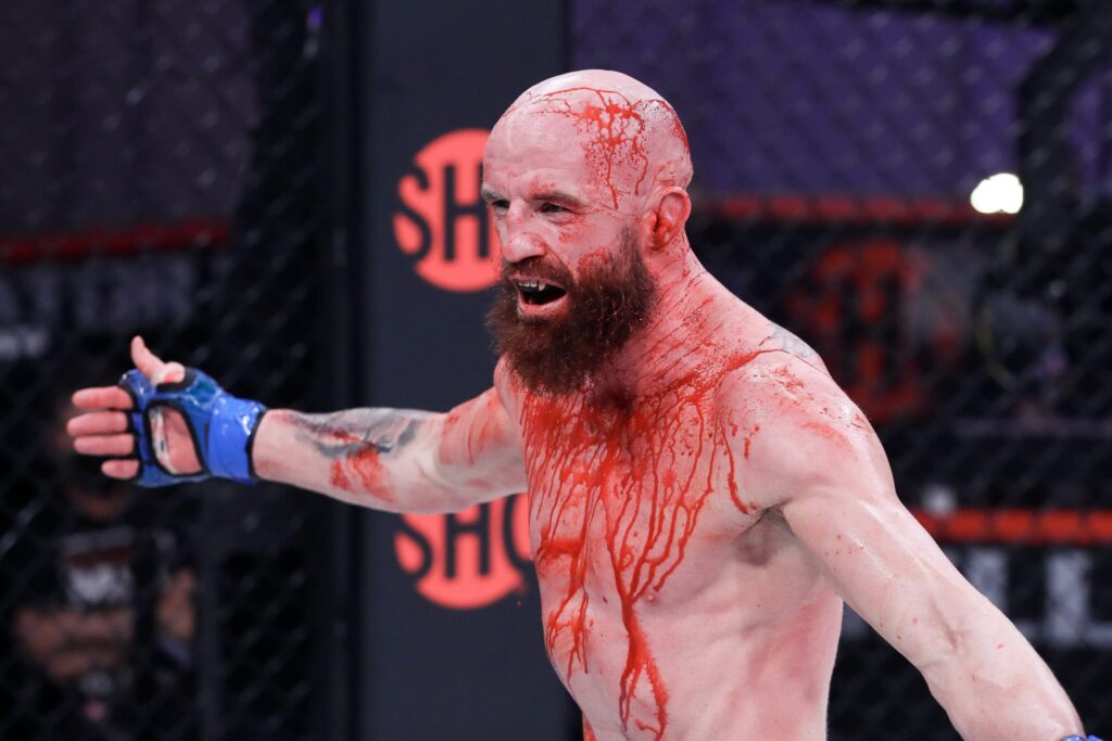 Conor McGregor Training Partner Peter Queally victorious Bellator 258 betting upsets