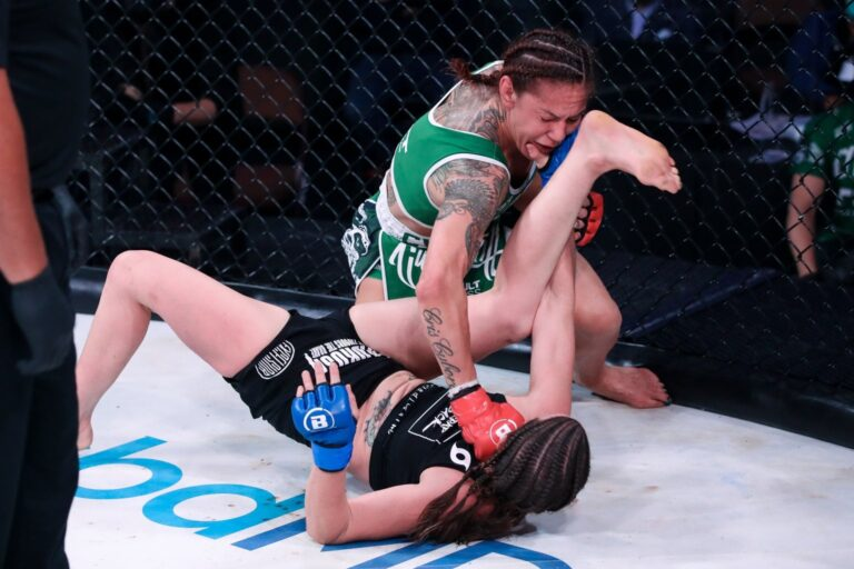 Bellator 259 Betting Results: -1450 Betting Favorite Cyborg scores late TKO over Smith