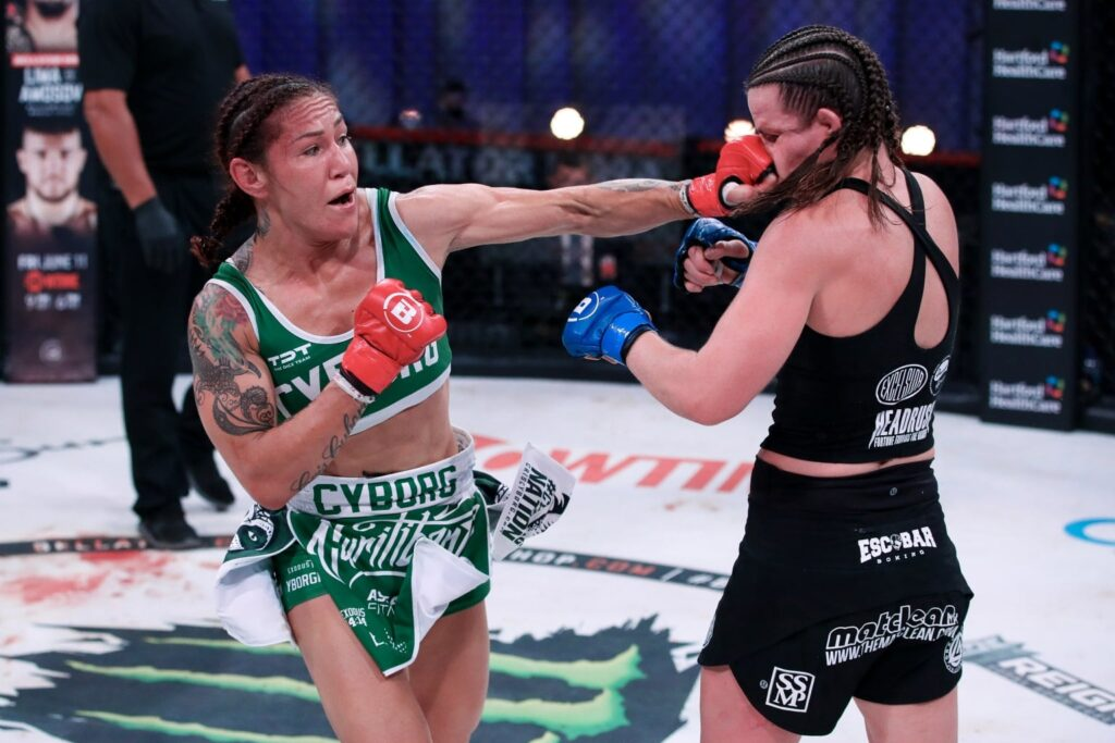 Bellator 259 betting results Cyborg defeats smith in Bellator MMA rematch