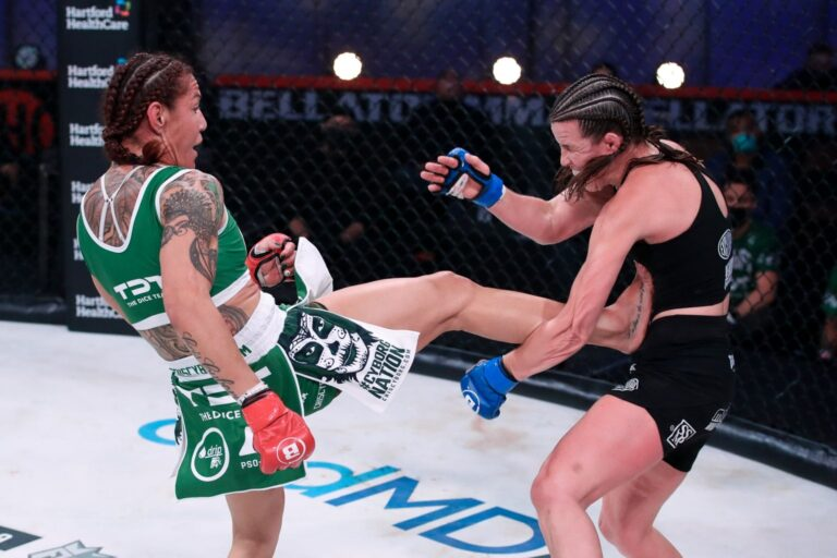 Bellator 259 betting results Cyborg Justino justifies heavy odds with late finish of Smith