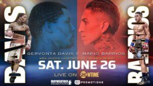Bet on Grevonta Davis Vs Mario Barrios Boxing Fight June 26th