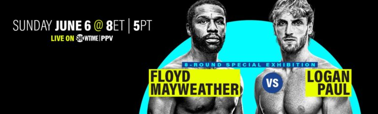 Bet on Floyd Mayweather Boxing Fight with Logan Paul