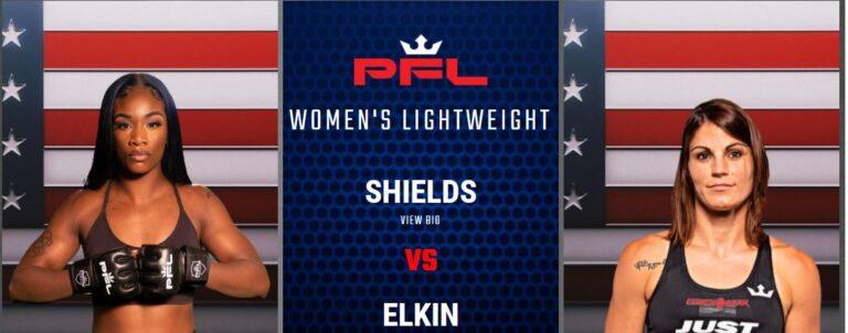 Bet On PFL 4 Claressa Shields vs Brittney Elkin