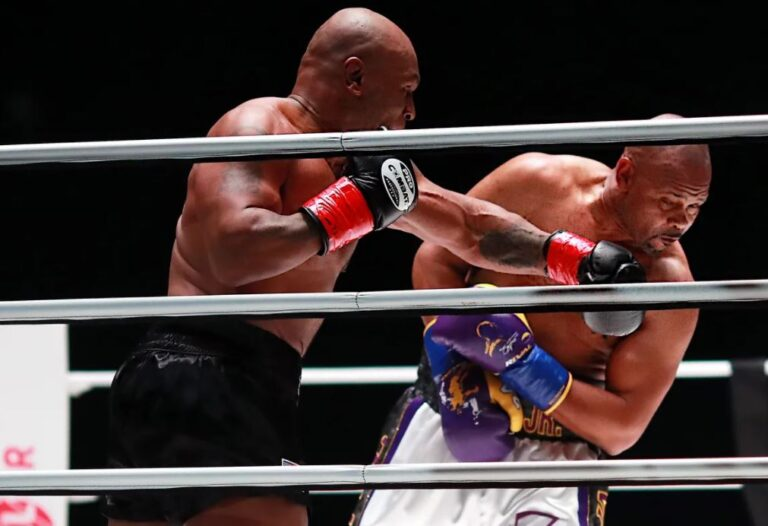 Bet on Boxing Triller Fight Club Mike Tyson