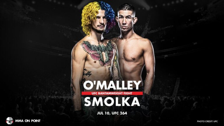 Bet on UFC 264 Sean OM'alley Vs Louis Smolka