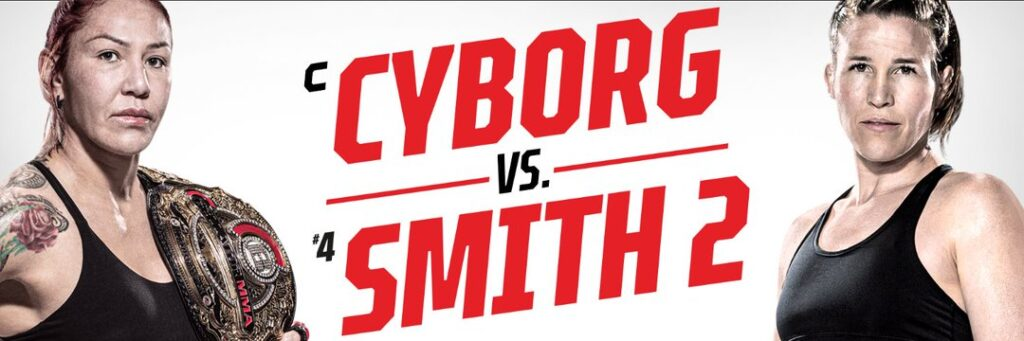 Bet on Bellator 259 Cris Cyborg -1450 Betting Favorite Vs 7-1 underdog Leslie Smith 2