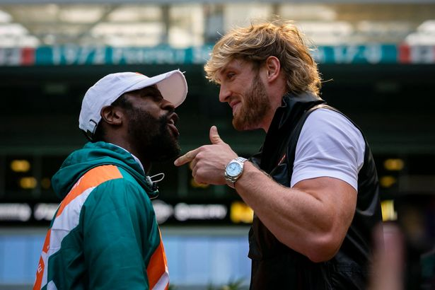 Bet On Floyd Mayweather Vs Logan Paul Boxing Fight Faceoff