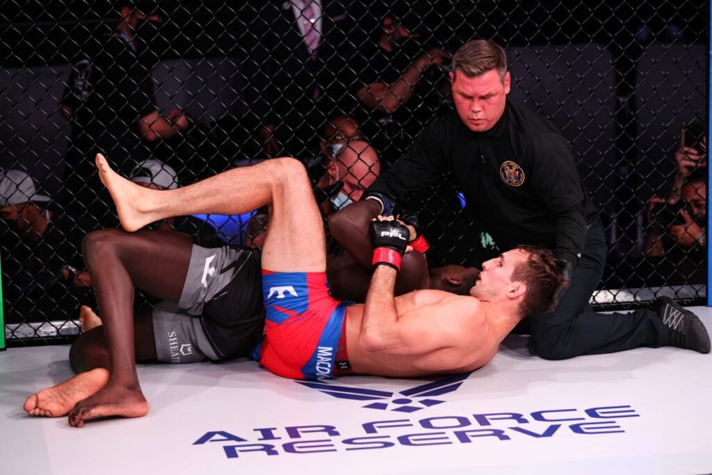 PFL Week 3 Betting Results: MacDonald Finishes Millender in 1st to earn 6 points