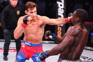 PFL week 3 Betting Results: Rory MacDonald Stops Curtis Millender in 1st