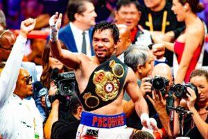 Bet on Manny Pacquiao WBA & former WBC boxing champion