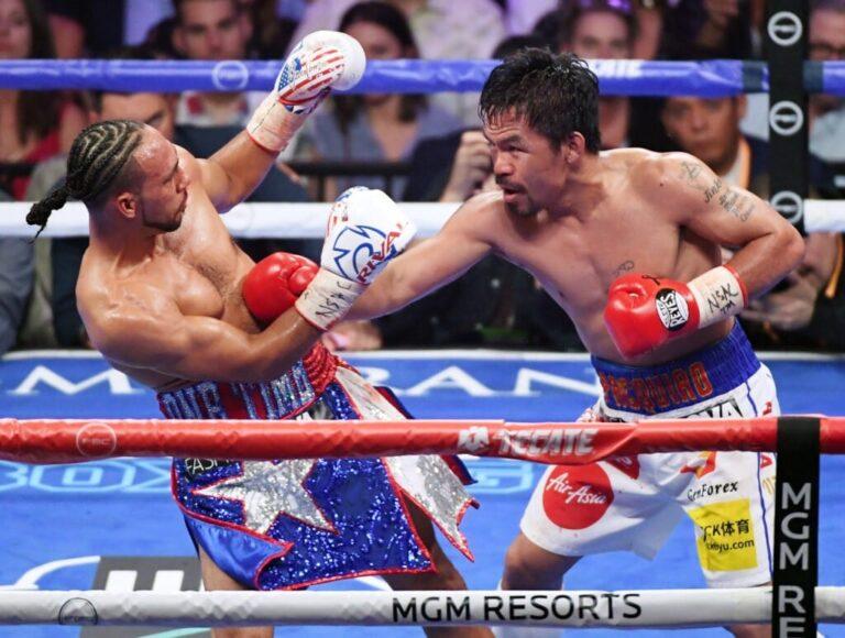 Bet on Manny Pacquiao Boxing Comeback Vs Errol Spence Jr