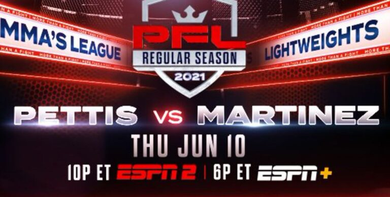 Bet on PFL 4 Anthony Pettis Vs Alex Martinez MMA Fight