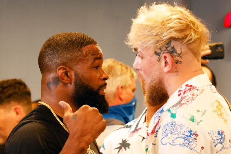 Bet on Jake Paul -150 Betting Favorite Vs Tyron Woodley +110 Betting Underdog Boxing Fight SHOWTIME