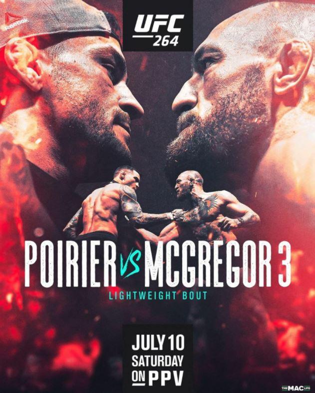 Bet on UFC 264 Conor McGregor Vs Dustin Poirier 3 UFC Bets Bonuses