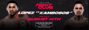 Bet on Teofimo Lopez Vs George Kambosos Triller Boxing Fight WBO IBF WBA