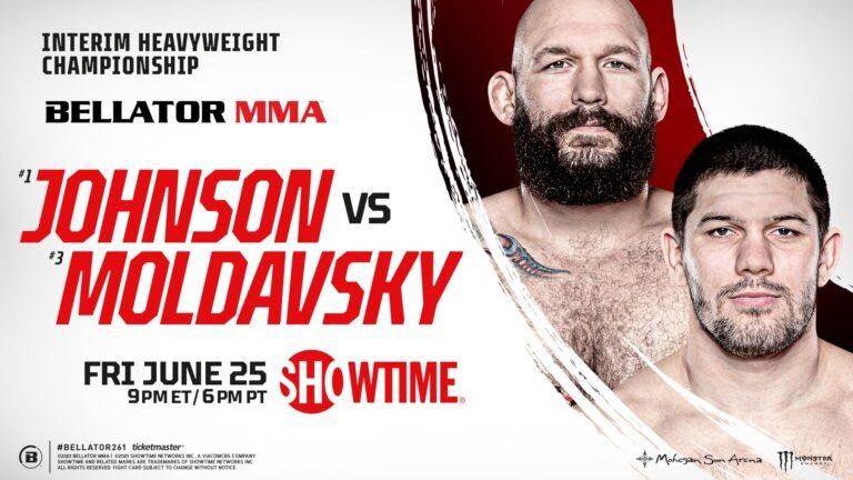 Bet on Bellator 261 Johnson vs Moldavski Bellator MMA UK Free Bets & Bonuses