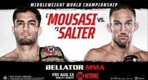 Bet on Bellator 264 Mousasi Vs Salter Bellator MMA Betting Sites