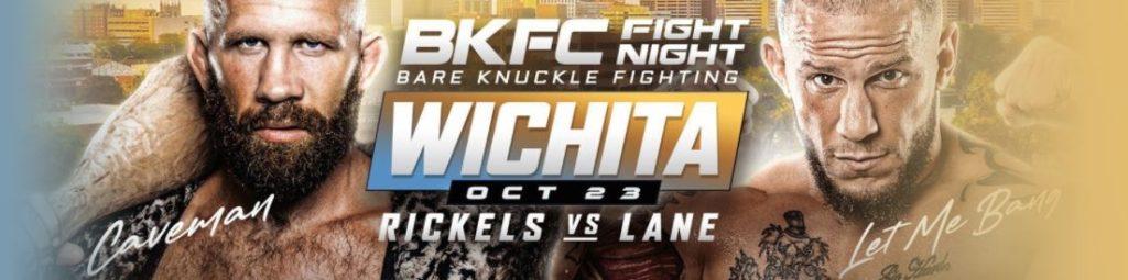 Bet on BKFC Wichita Rickles Vs Lane | Best BKFC Betting Sites | Bet on Bare Knuckle