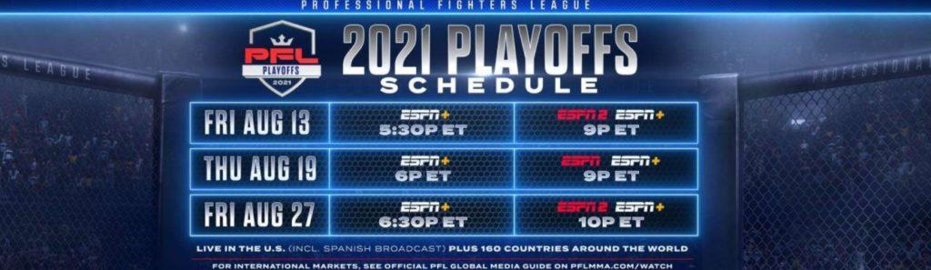 PFL Playoffs Betting Bonuses & Free Bets