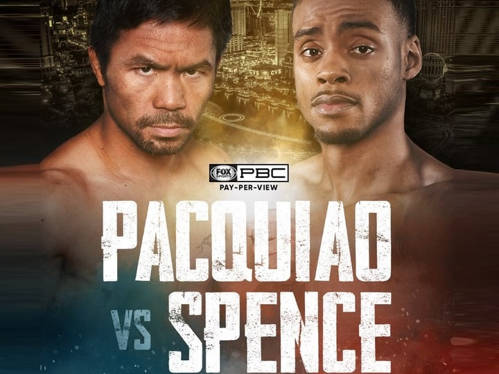 Bet on Pacquiao Spence Jr August 21st Boxing Fight Bet on WBC boxing Bets UK