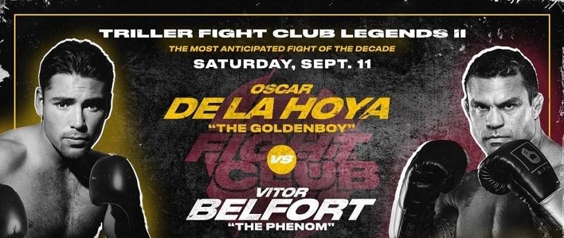 Bet on Triller Boxing Oscar De La Hoya Vs Vitor Belfort | Best Boxing Betting Sites