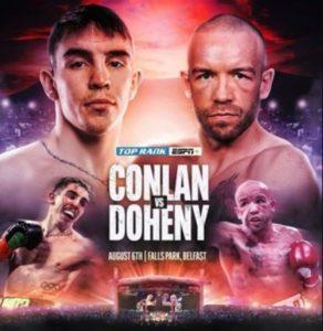 Bet on Michael Conlan Vs TJ Doheny Boxing Fight | Best Boxing Betting Sites | UK, Ireland