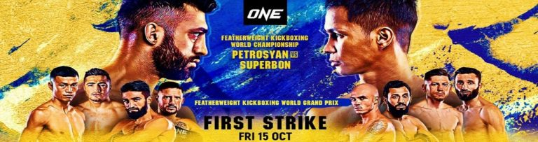 Bet on ONE Championships First Strike | Bet on Kickboxing Fights | Best Betting Sites