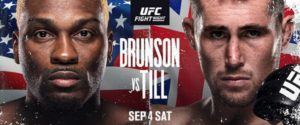 Bet on UFC Fight Night Brunson Vs Till Best UFC Betting Sites & Bonuses