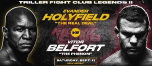 Bet on Triller Boxing Holyfield Vs Belfort, Silva Vs Ortiz, David Hye | Best UK Boxing Betting Sites