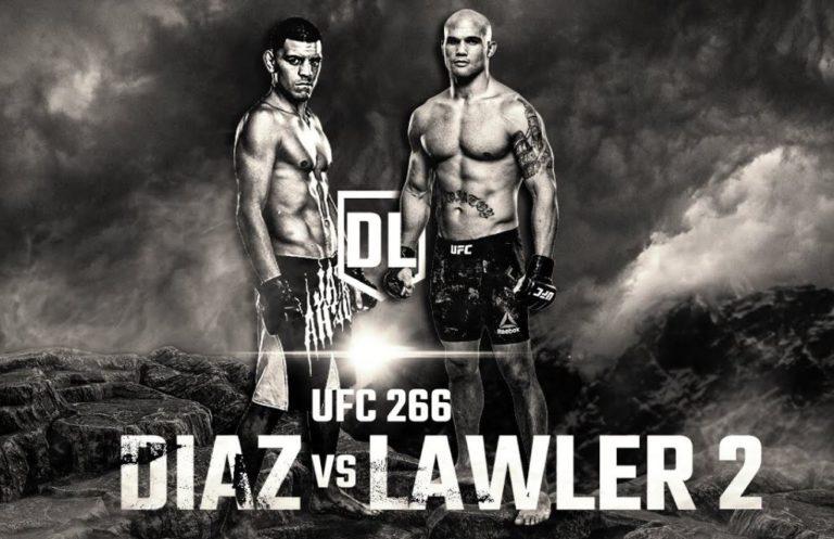 Bet on UFC 266 Nick Diaz Vs Robbie Lawlaer 2 Best UFC Betting Sites   Bet on UFC & MMA Fights