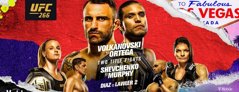 Bet on UFC 266 Volkanovski Vs Ortega Diaz Vs Lawler 2 Best UFC Betting Sites