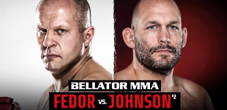 Bet on Bellator Moscow Fedor Vs Johnson | Best Bellator Betting Sites | Bet on MMA Fights