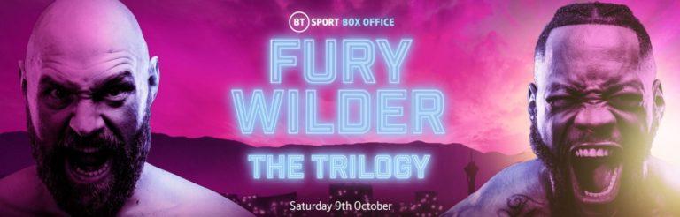 Fury Vs Wilder 3 Best Boxing Betting Bonuses | Bet on Tyson Fury Vs Deontay Wilder III