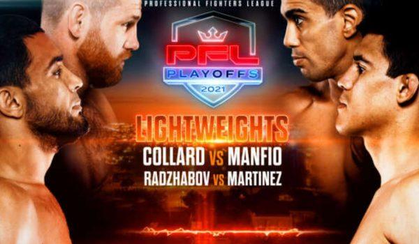 et on PFL Playoffs 1 Collard Vs Manifo | Best Betting Sites