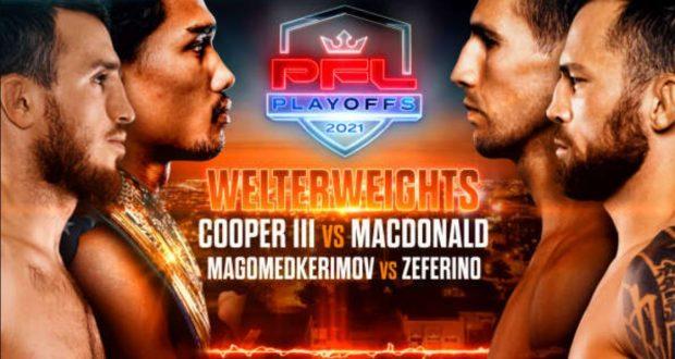 Bet on PFL Playoffs 1 Cooper III Vs MacDonald | Best Betting Sites