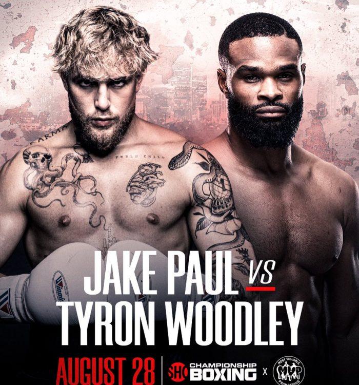 et on Jake Paul Vs Tyron Woodley Boxing Fight