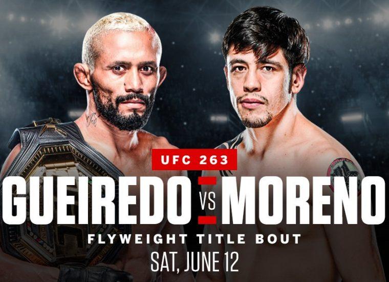 Bet on UFC 263 Deiveson Figueiredo vs Brandon Moreno 2